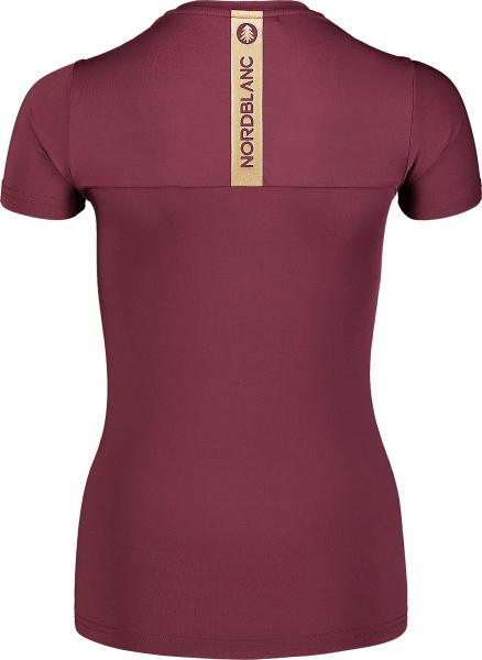 Tricou dama Nordblanc W UNIFY fitness Fip violet 2