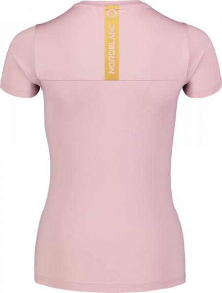 Tricou dama Nordblanc W UNIFY fitness Muted pink 2