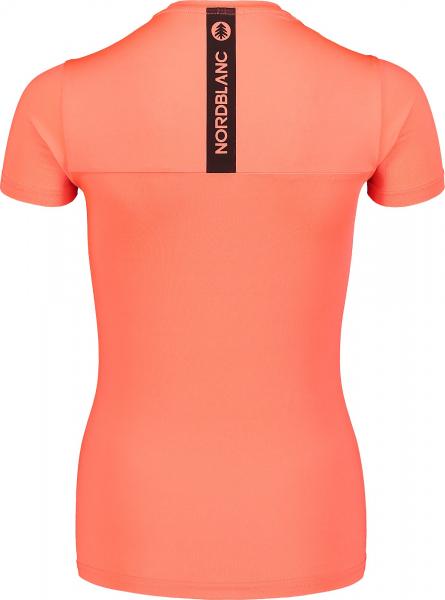 Tricou dama Nordblanc W UNIFY fitness Fiery coral 2