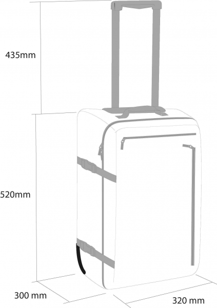 Troller Rossignol DISTRICT CABIN BAG 4