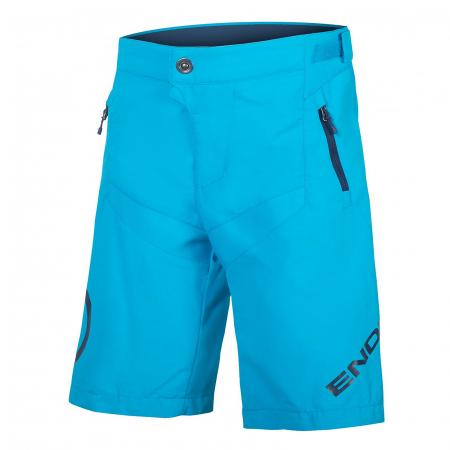 Pantaloni scurti copii Endura MT500JR Albastru [0]