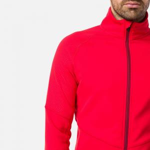 Bluza barbati Rossignol CLASSIQUE CLIM Sports red1