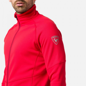 Bluza barbati Rossignol CLASSIQUE CLIM Sports red3