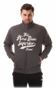 Bluza barbati NORDBLANC SUPERIOR Cotton Graphite melange0