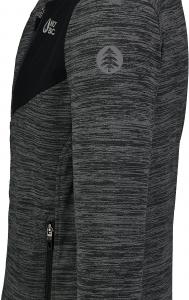 Bluza barbati Nordblanc MUTE fleece Graphite melange3