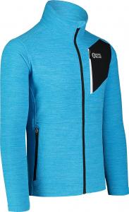 Bluza barbati Nordblanc MUTE fleece Royal blue1