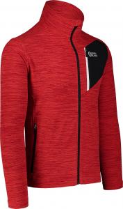 Bluza barbati Nordblanc MUTE fleece Powerful red1