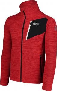 Bluza barbati Nordblanc MUTE fleece Powerful red2