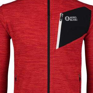 Bluza barbati Nordblanc MUTE fleece Powerful red5