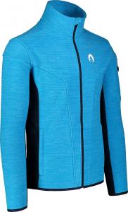 Bluza barbati Nordblanc SILENT fleece Royal blue1