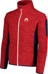 Bluza barbati Nordblanc SILENT fleece Powerful red2