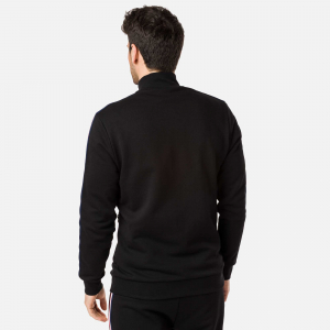 Bluza barbati Rossignol TRACK SUIT SWEAT FZ Black2