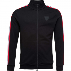 Bluza barbati Rossignol TRACK SUIT SWEAT FZ Black0