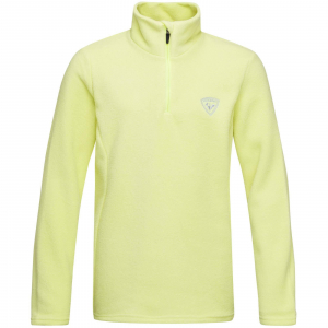 Bluza copii Rossignol GIRL 1/2 ZIP FLEECE Sunny lime0