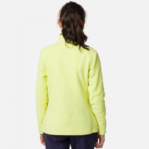 Bluza copii Rossignol GIRL 1/2 ZIP FLEECE Sunny lime3