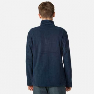Bluza copii Rossignol BOY 1/2 ZIP FLEECE Dark navy2