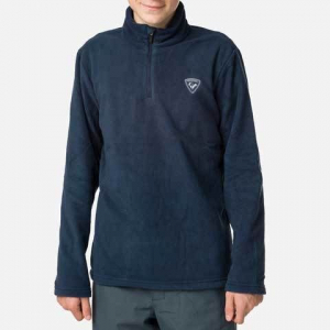 Bluza copii Rossignol BOY 1/2 ZIP FLEECE Dark navy1