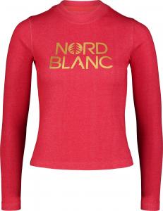 Bluza dama Nordblanc W RAISE Dark red0
