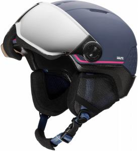 Casca schi copii Rossignol WHOOPEE VISOR IMPACTS Blue / Pink0