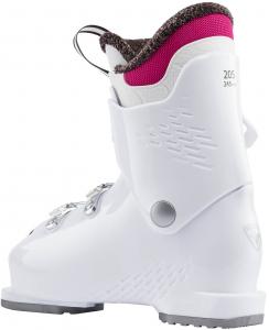 Clapari copii Rossignol FUN GIRL J3 White pink1