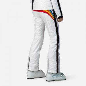 Pantaloni schi dama Rossignol JCC W RAINBOW White1