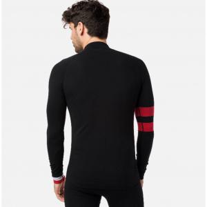 Bluza first layer barbati Rossignol DROITE UNDERWEAR TOP Black2