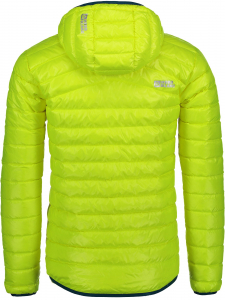 Jacheta barbati Nordblanc HEARTH ULTRA light down Safety yellow2