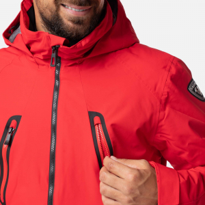 Geaca schi barbati Rossignol FONCTION Sports red2