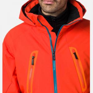 Geaca schi barbati Rossignol FONCTION lava orange6