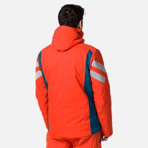 Geaca schi barbati Rossignol PRO lava orange1