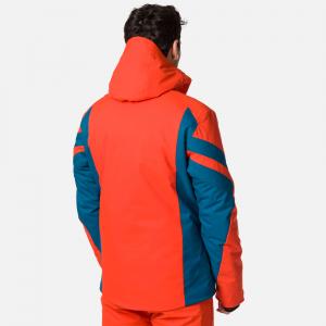 Geaca schi barbati Rossignol SKI lava orange1