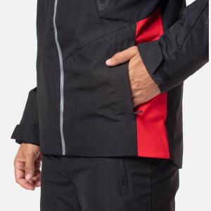 Geaca schi barbati Rossignol FONCTION black red3