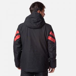 Geaca schi barbati Rossignol FONCTION black red1