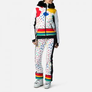 Geaca schi dama Rossignol JCC W FURI PR DOWN Rainbow3