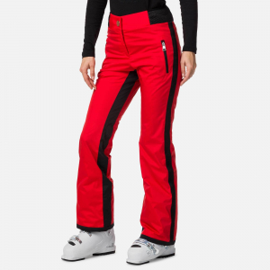 Pantaloni schi dama Rossignol JCC W JUDY Red0