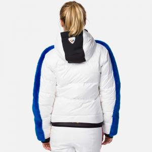 Geaca schi dama Rossignol JCC W RAINBOW-SNOW White1