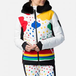 Geaca schi dama Rossignol JCC W FURI PR DOWN Rainbow0