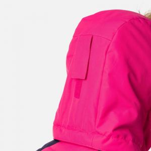 Geaca schi fete Rossignol GIRL BB POLYDOWN Pink fushia7