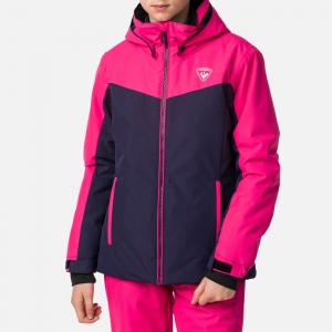 Geaca schi fete Rossignol GIRL SKI Pink fushia0