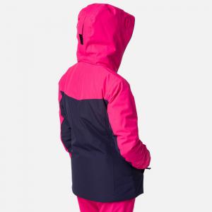Geaca schi fete Rossignol GIRL SKI Pink fushia1