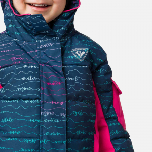 Geaca schi fete Rossignol KID FLOCON PR Girly font4