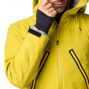 Geaca ski snowboard barbati Vertical WINDY MP+ Mustard1