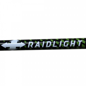 Bete telescopice Raidlight AVATARA HYBRID Black lime green5