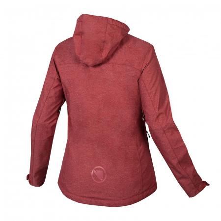 Jacheta Endura HUMMVEE Winterproof Hooded Rosu [1]