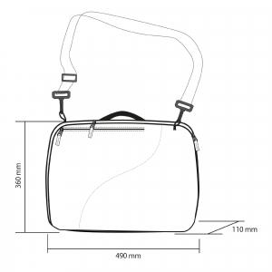 Husa clapari Rossignol DUAL BASIC BOOT BAG3