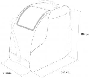 Husa clapari Rossignol TACTIC BOOT BAG8