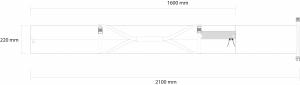 Husa schi Rossignol PREMIUM EXTENDABLE 2P PADDED  160-2103