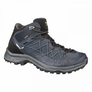 Incaltaminte barbati Salewa MS WILD HIKER MID GTX Black out / silver0