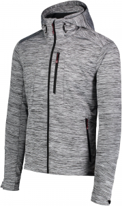 Jacheta barbati Nordblanc GNARLY MEMBRANE Light softshell Light grey melange1