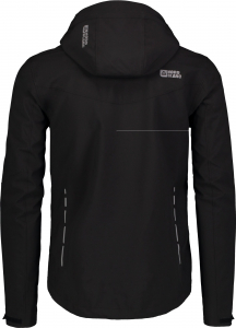 Jacheta barbati Nordblanc UNEVEN Light softshell 3LL 4X4 Str Black2